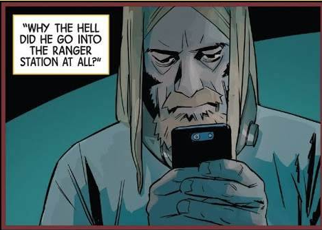 A disheveled Doug Ramsey in Hunt for Wolverine: Weapon Lost #3 (Marvel Comics, 2018)