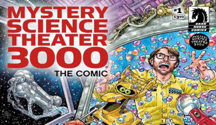 MST3K #1: The Incredibly Strange Comics That Stopped Living and Became Mixed-Up Zombies