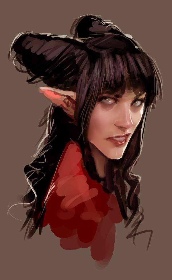 Rat Queens' Hannah painted by Stjepan Šejić