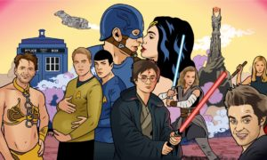 "Featured Image for the Guardian's ""From Star Trek to Fifty Shades: how fanfiction went mainstream"""
