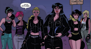 Let's Rumble: Betty and Veronica Vixens Volume 1