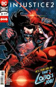 Lobo fighting Atrocitus