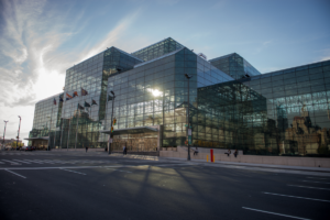 The Javits Center in NYC