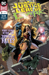Doctor Fate, Wonder Woman and the JL Dark in the Tower of Fate