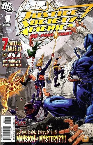Cover of Justice Society of America 80-Page Giant (DC Comics, January, 2010)
