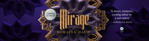 Twitter Cover for Mirage by Somaiya Daud