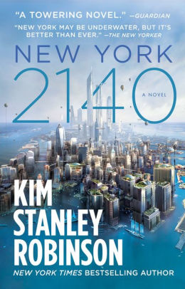 Cover of New York 2140 by Kim Stanley Robinson.