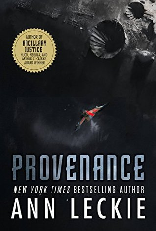 Cover of Provenance, by Ann Leckie.