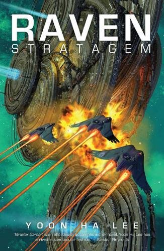 Cover of Raven Stratagem by Yoon Ha Lee.