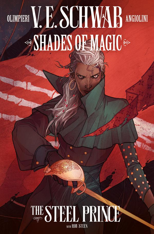 An intimidating pirate lady on the cover of Shades of Magic: The Steel Prince #2 (Titan Comics, November 2018)