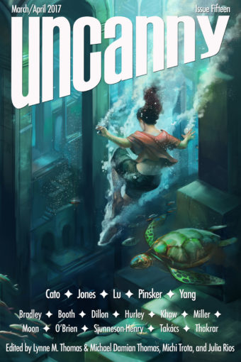 Uncanny Magazine issue 15