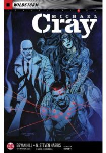 Michal Cray subdued by Wonder Woman and Constantine