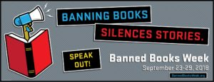 Banned Books Week 2018 banner