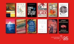 Giller Prize Longlist Titles