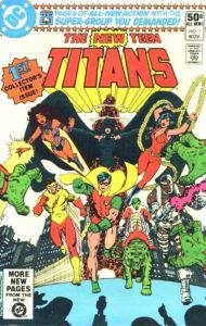 The New Teen Titans (DC Comics, November 1980)