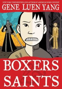 Boxers and Saints by Gene Luen Yang; color by Lark Pien (First Second, 2013)