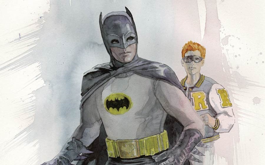 Archie Meets Batman '66 #3: The Batman of Riverdale Cover F. Written by Michael Moreci and Jeff Parker, drawn by Dan Parent. Archie Comics and DC Entertainment. September 26, 2018