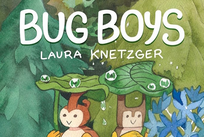 The Bug Boys Volume 1 cover.