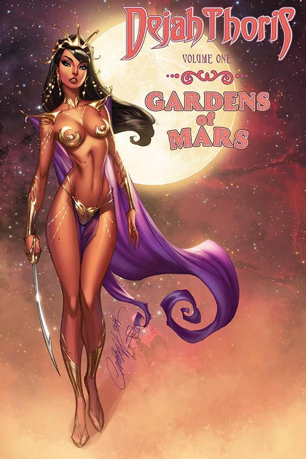 Dejah Thoris: The Gardens of Mars Volume 1 (Dynamite Entertainment, September 2018)