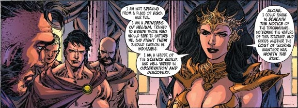 Dejah Thoris explains her plan