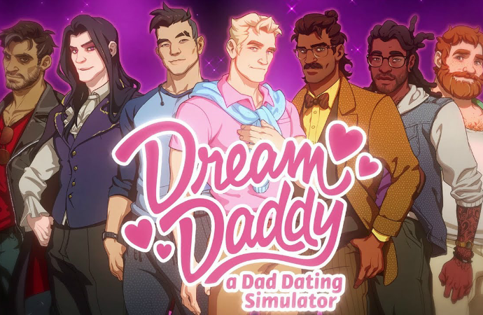 Dream Daddy Game promotional art
