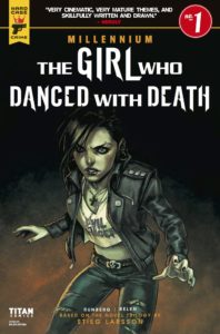 The Girl Who Danced With Death Cover B. Written by Sylvain Runberg, drawn by Belen Ortega. Publishing by Titans Comics. 15 August, 2018