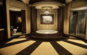 Estacado mansion bathroom in Darkness II (2K Games, 2012)