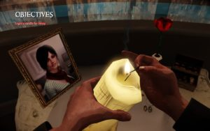 Lighting a candle for Jenny in Darkness II (2K Games, 2012)
