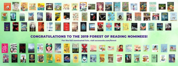 Books nominated for the Forest of Reading