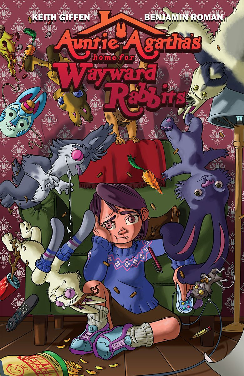 Auntie Agatha's Home for Wayward Rabbits #1 cover