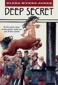 Book cover for Deep Secret by Diana Wynne Jones