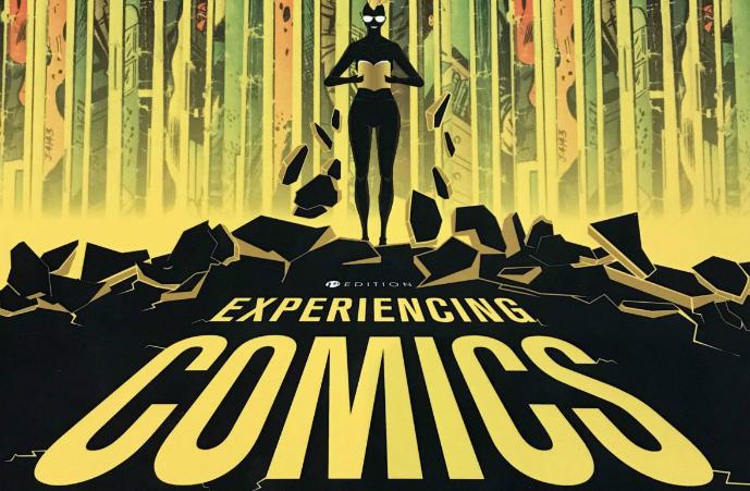 Cover Experiencing Comics by Rachel Cruz, 2018
