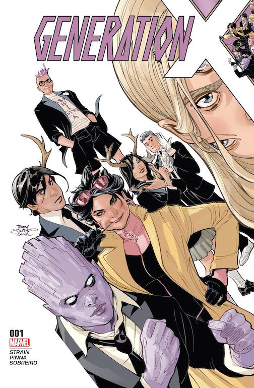 Generation X was written by Christina Strain and drawn by Amilcar Pinna, with letters by Clayton Cowles and colour by Felipe Sobreiro