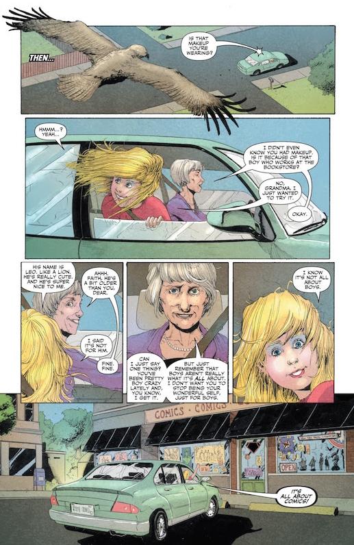 Joshua Dysart, Robert Gill, Jose Villarubia, Harbinger: Faith #0, Valiant Comics