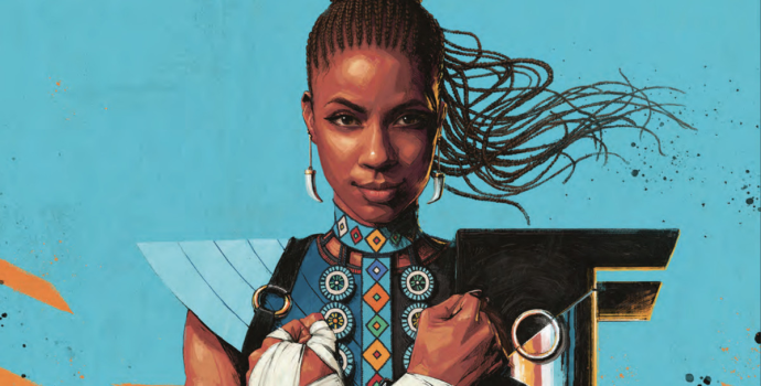 Shuri #1 cover by Sam Spratt (Marvel Comics, October 18, 2018)