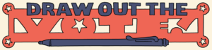 Draw Out the Vote logo