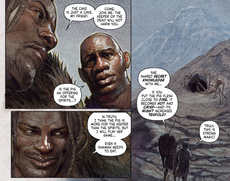 Shadowman #7 Andy Diggle (scripter), Renato Guedes (art), Simon Bowland (letters)