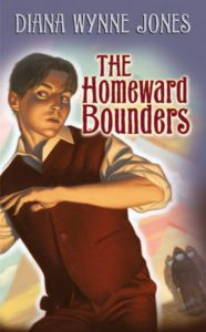 Book Cover for The Homeward Bounders by Diana Wynne Jones
