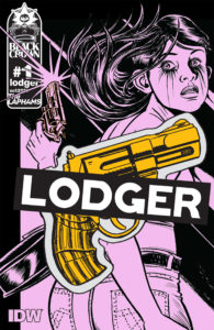 Cover for Lodger #1 David & Maria Lapham (authors), Maris Lapham (artist) October 24, 2018