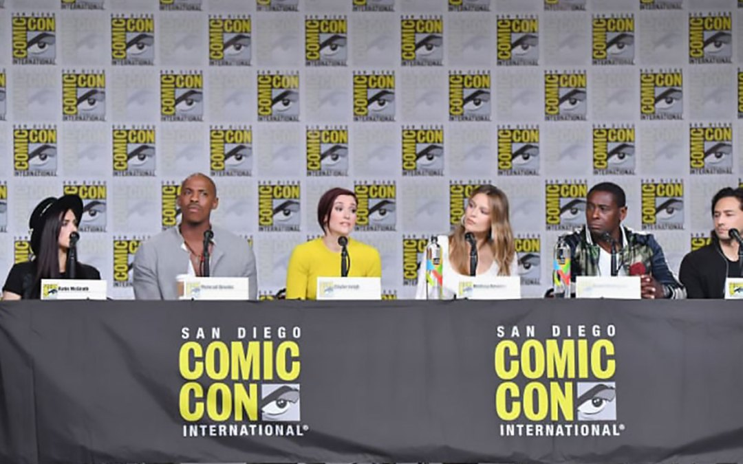 Supergirl Panel at SDCC 2018. Photo by Cori McCreery