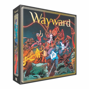 Wayward Board Game, Jim Zubb, IDW Games, 2019