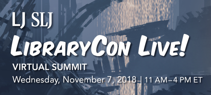 Library Con Live 2018 banner