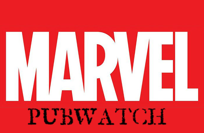 Marvel Pubwatch - banner designed by Cori McCreery