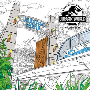 Jurassic World Coloring Book Cris Bolson, Mark Borstel, Eduardo Francisco, Iván Fernández Silva (illustrators) Dark Horse Comics March 13, 2019