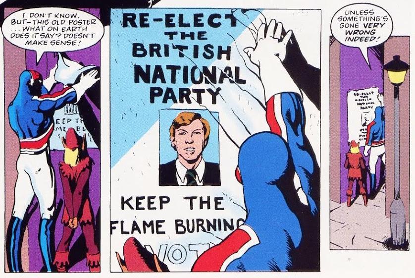 Dave Thorpe, Alan Davis, Helen Nally, Peri Gobold, Marvel reprints of Marvel UK Marvel Superheroes #377, 1981