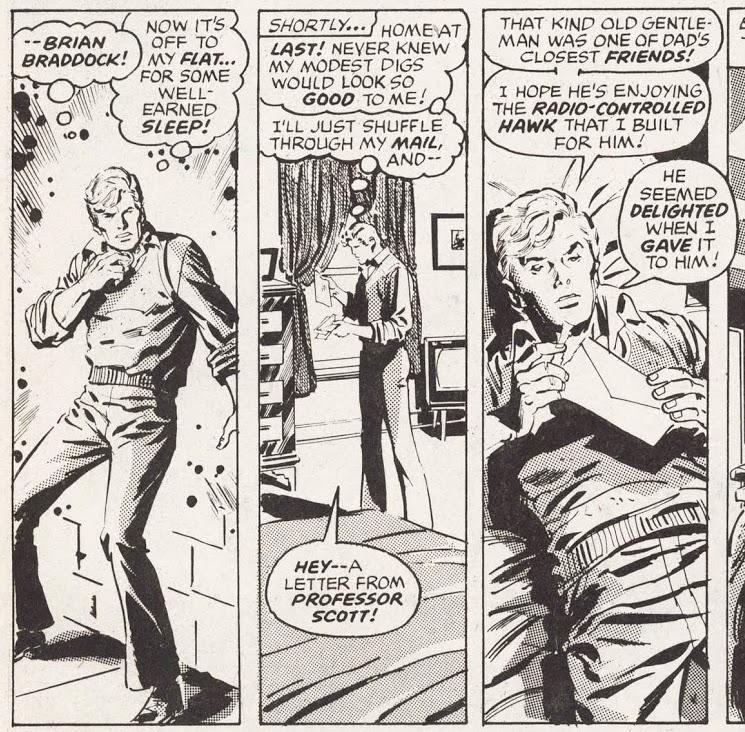 Captain Britain magazine, Marvel UK, Marvel Comics, John Buscema, Gary Friedrich, Fred Kida, Irv Watanabe, Marie Severin