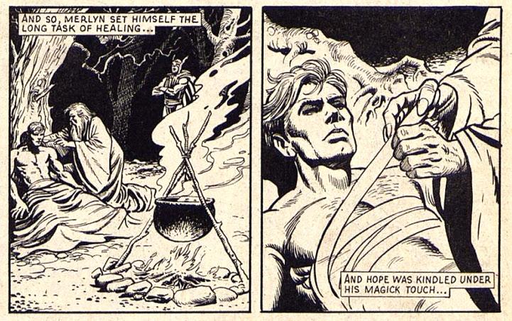 John Stokes with paul Neary & Steve Parkhurst for HULK COMIC, Marvel UK, under Dez Skinn, 1979