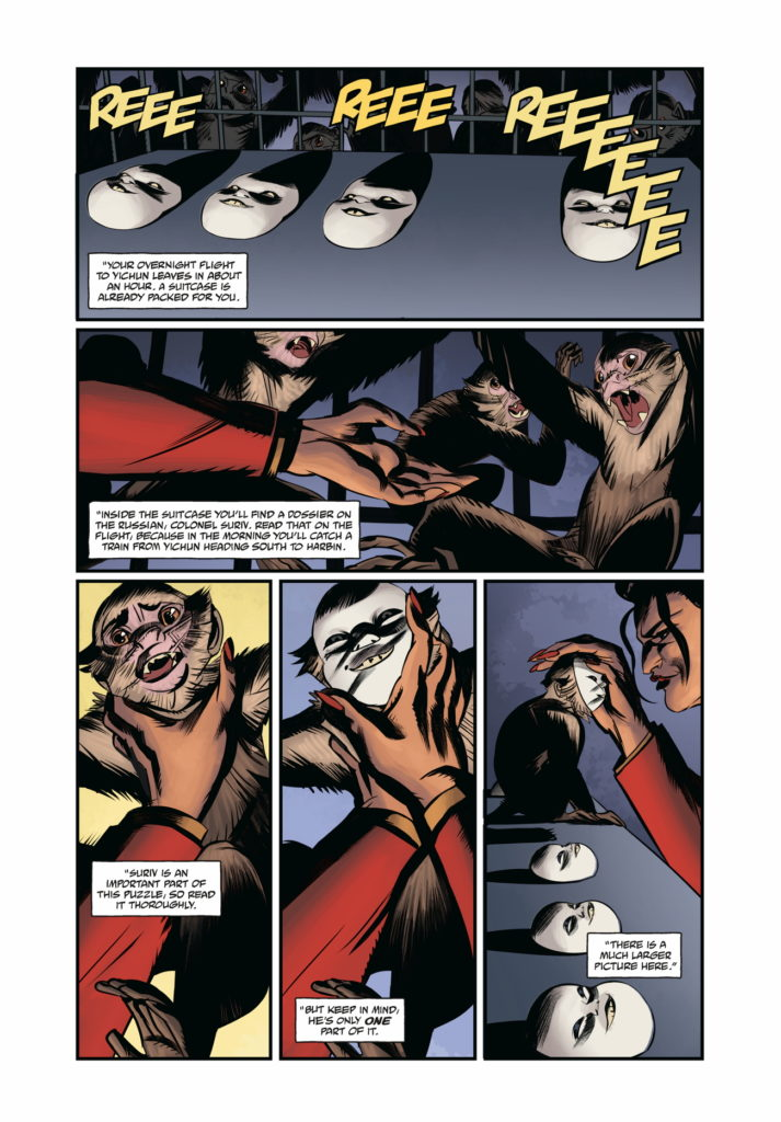 Page 1 from Crimson Lotus #2