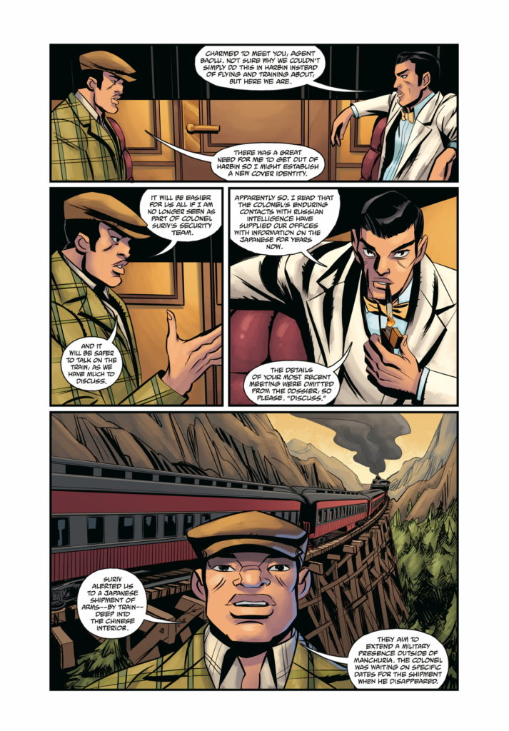 Page 4 from Crimson Lotus #2