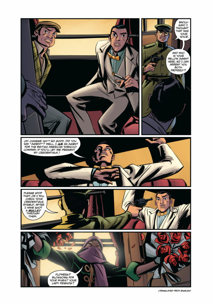 Page 5 from Crimson Lotus #2